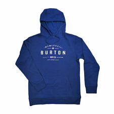BURTON MB Numeral Po Herren Sweatjacke Hoodie Blau