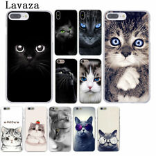 Funda Rígida Gato Animal volver estuche para iPhone 4s 5 5s se 8 X 7 710 6 6s Plus