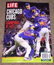 2016 CHICAGO CUBS CHAMPIONS AT LAST LIFE SPECIAL 96 page MAGAZINE WORLD SERIES