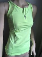 WOMENS SPORTS GYM RACER BACK RUNNING VEST FITNESS TOP UK 8 10 12 14 16 XS S M L