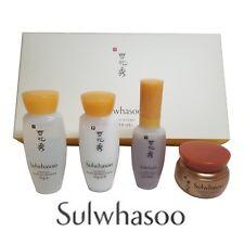 SULWHASOO Basic Kit4 Items Serum+Emulsion+Cream+Water+ JAYJUN MASK PACK GIFT
