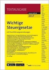 Wichtige Steuergesetze (2017, Set mit diversen Artikeln)