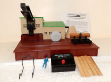 American Flyer Rare 23796 Operating Saw Mill Close To New 1950s Original One