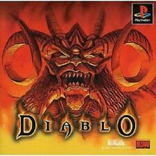 PS1 DIABLO Japan PS PlayStation 1 F/S