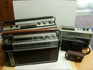 LOT DE 5 RADIO  A TRANSISTORS