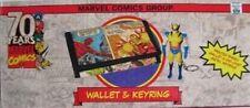 Wolverine Wallet & Metal Keyring Gift Set 70 Years of Marvel Comics Anniversary