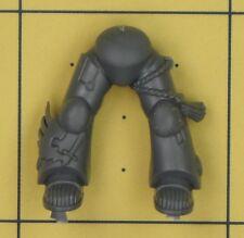 WARHAMMER 40K SPACE MARINE Dark Angels Ravenwing Comando Squadra gambe (B)
