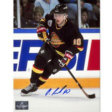 Pavel Bure Vancouver Canucks Signed 8X10 Action Photo