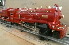 LIONEL Prewar 260E & 260 Tender RED COMET Serviced-Restored , Vintage Runs-read