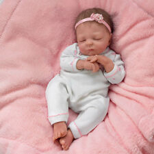 "ASHTON DRAKE CUDDLE CAITLYN WARMING BABY DOLL BY VIOLET PARKER *NEW* 17"" DOLL"