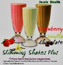 Fast Slimming Protein Weight Loss KETO Diet Juice Shakes plus BOOSTER diet pills