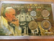 More details for 1996 pope john paul 2nd coins of the vatican brilliant uncirculated folder set