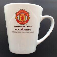 Manchester United v CSKA Moscow Cup 2009-2010 Champions League Ceramic Mug