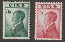 Ireland 1953 #149-50 Robert Emmet - MNH