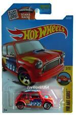 2016 Hot Wheels #193 HW Art Cars Morris Mini red