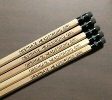 Jane Austen Five Pencil Set Obstinate Headstrong Girl