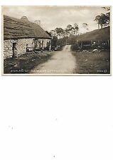 KILLIN Highland Cottage Glen Lochay Postcard Stirlingshire 1922
