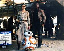 Brian Herring Signed Star Wars Force Awakens 11x14 Photo Bas C13958