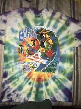 Jimmy Buffett T Shirt Summerzcool Tour 2009 Tie Dye Men Xl Rare Hanes Wasted