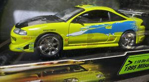 2 Fast 2 Furious 1995 Mitsubishi Eclipse RC2 ERTL Racing Champions Paul Walker