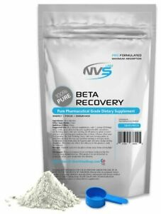 NVS 100% PURE BETA ALANINE POWDER KOSHER -RECOVER- HPLC PHARMACEUTICAL USP VEGAN