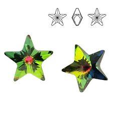 Swarovski 4745 Star 10 mm Crystal VM (price for 1 pair)