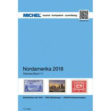 Catalogue Michel de cotation timbres Amérique du Nord 2018.