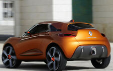 "RENAULT CAPTUR CONCEPT BACK VIEW A3 CANVAS PRINT POSTER FRAMED 16.5""x11.1"""