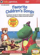 Baby Genius - Favorite Children's Songs (DVD, 2004)