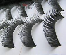 60 Pairs Thick Natural Fake False Eyelashes Eye Lashes Wholesale Lots