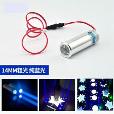 450nm 100mW Blue Laser Diode Module Fat Thick Beam Bar Stage Light 3.6V-4.2V