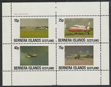 GB Locals - Bernera 2860- AIRCRAFT perf sheetlet unmounted mint