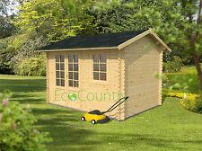 shed 3.4 x 2.5 28mm,garden shed,log cabin,garden room,summer house,garden house