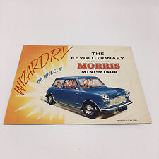 MORRIS MINI MINOR Car Sales Brochure August 1959 #H&E 5950