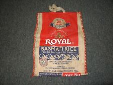 ROYAL BASMATI RICE 25LB BAG WITH ZIPPER AND HANDLES **EXCELLENT CONDITION**