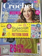Simply Crochet Magazine #83 2019 W Stylecraft Pattern Book Moomin Marvelous