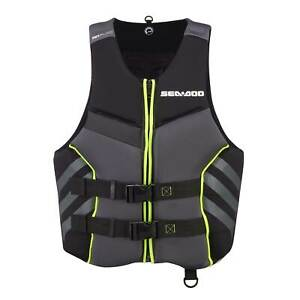 Sea Doo Airflow Men's Life Jacket Boat PWC Jet Ski Swim Vest PFD