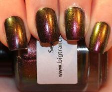 NEW- Multichrome (Sea Glass) Multi-Color Shifting Polish Custom-Blended Glit