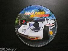 JEU Sony PlayStation PS1 PS2 : RIDGE RACER REVOLUTION (Namco, loose, env. suivi)