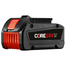 Bosch GBA18V63 18-Volt 6.3 Ah 1,400-Watt Lithium-Ion Core Fat-Pack Battery