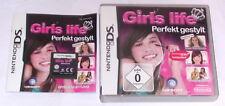 Jeu: Girls Life Parfait Style Sophistiqué pour Nintendo DS + Lite + DSI + XL + 3 DS 2 DS
