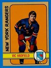 1972-73 Topps VIC HADFIELD (ex) New York Rangers