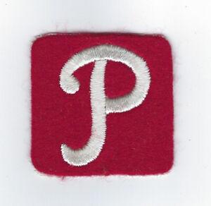1960's Philadelphia Phillies patch felt hat cap patch old logo