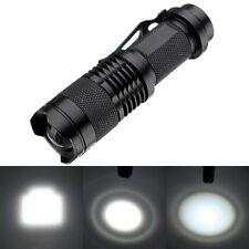 1200LM CREE Q5 AA/14500 3 Modes Zoom LED Super Bright Flashlight Mini Torch Lamp