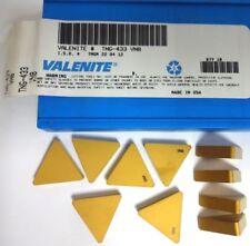 VALENITE TNG-433  VN8 INSERT PK10