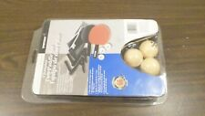 NOS Sportcraft Two Paddle Ping Pong Racket, Ball, Net Set 1-1-19-056