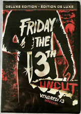 NEW SEALED  FRIDAY THE 13TH PART 1 UNCUT (1980) DELUXE ED. WIDESCREEN DVD REG:1