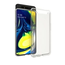 Samsung Galaxy A80 Handy Hülle Silikon Cover Schutzhülle Soft Case transparent