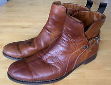 Paul Smith Mens Leather Brown Tan Boots UK 8.5