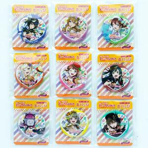 Love Live! Nijigasaki High School Tin Badge SEVEN ELEVEN Limited / Rina Emma....